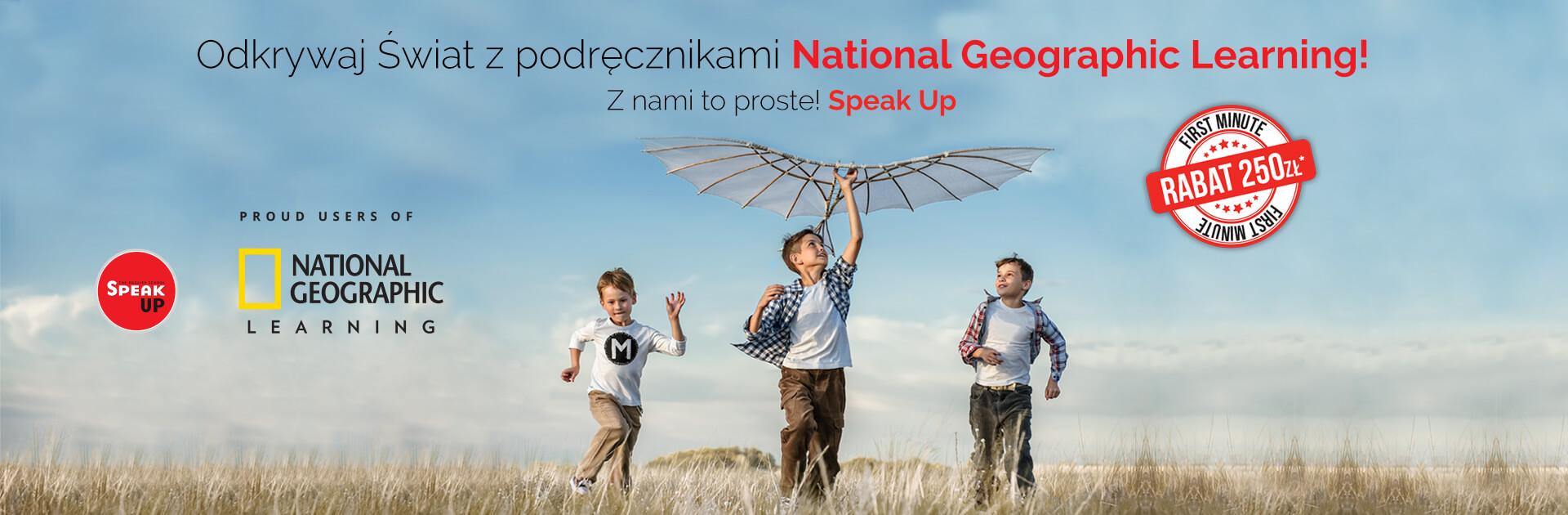 Angielski dla młodziezy z National Geographic w Speak Up