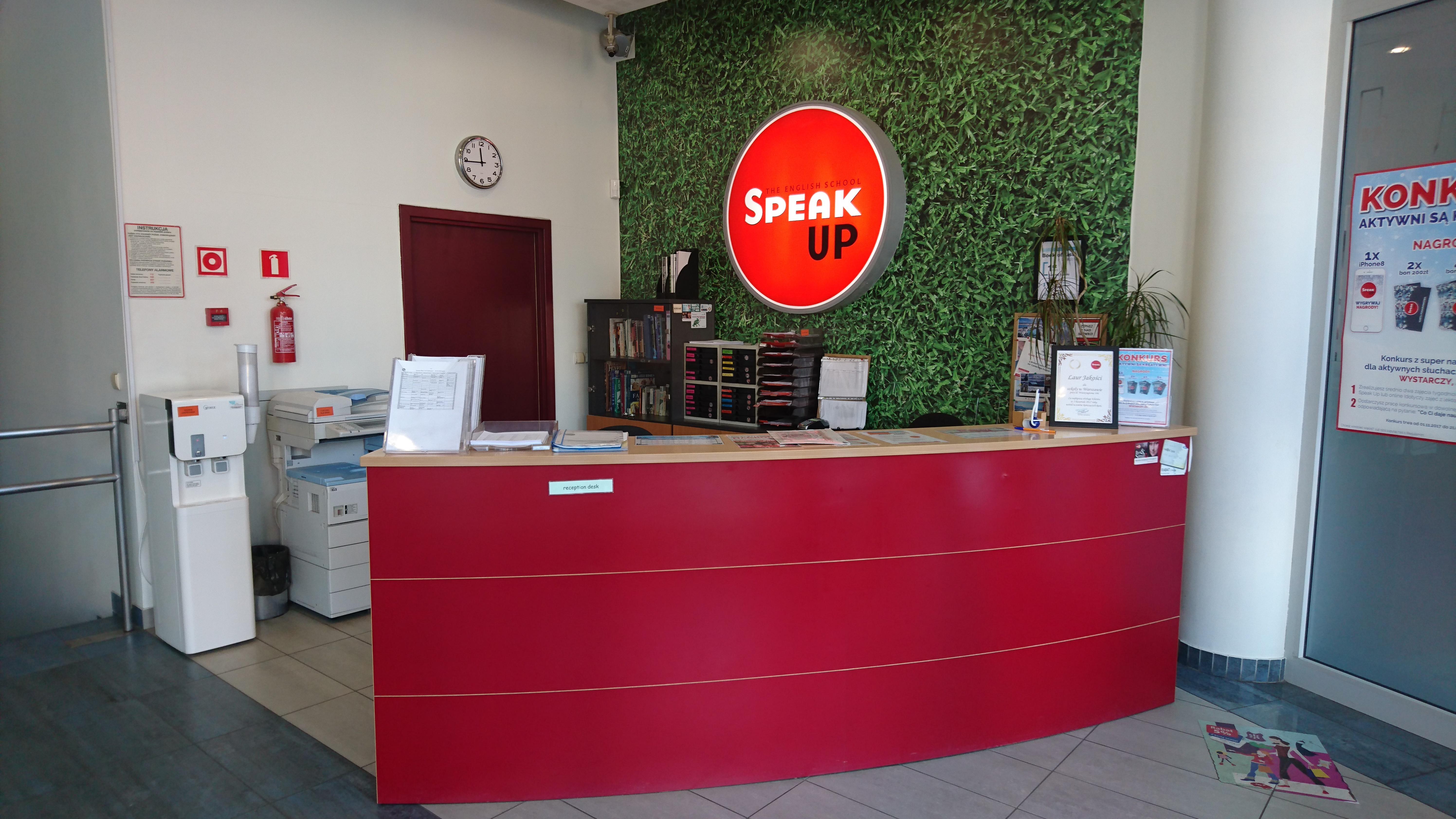 Szkoła Speak Up ul. Al. Waszyngtona Warszawa