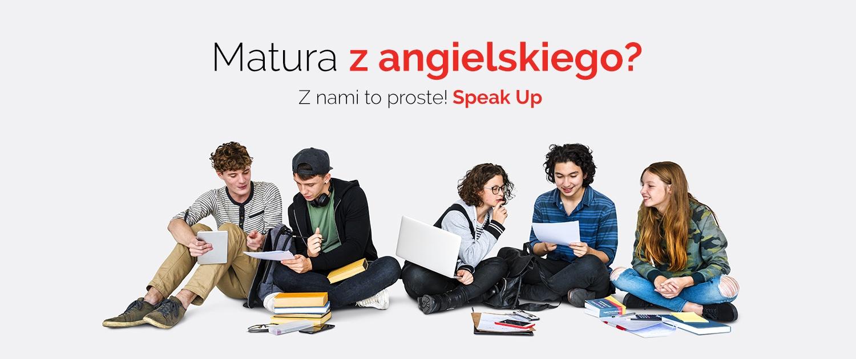 Matura w Speak Up z Angielskiego
