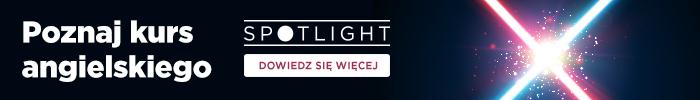 Kurs angielskiego Spotlight