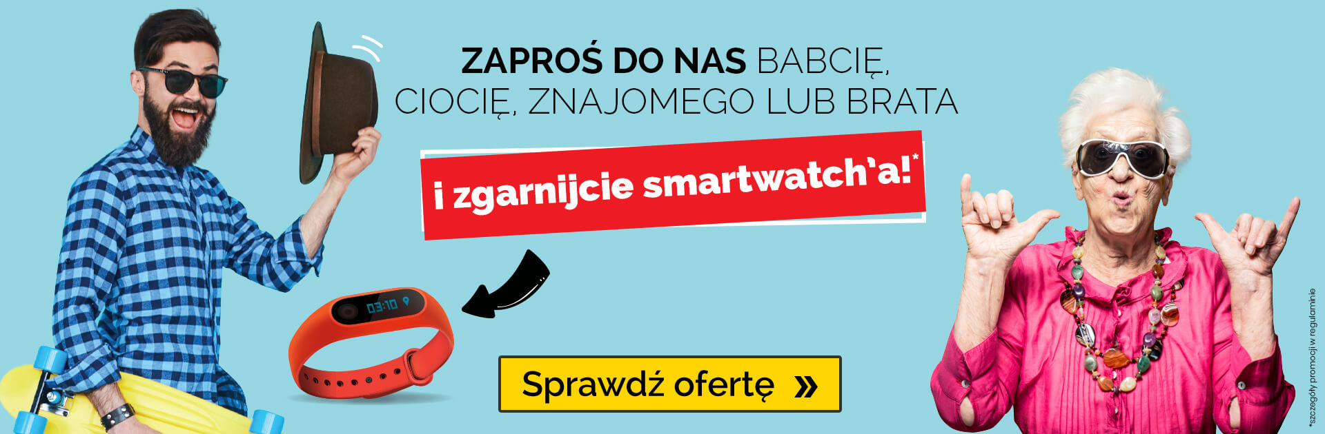 Zgarnij smartwatcha w Speak Up!